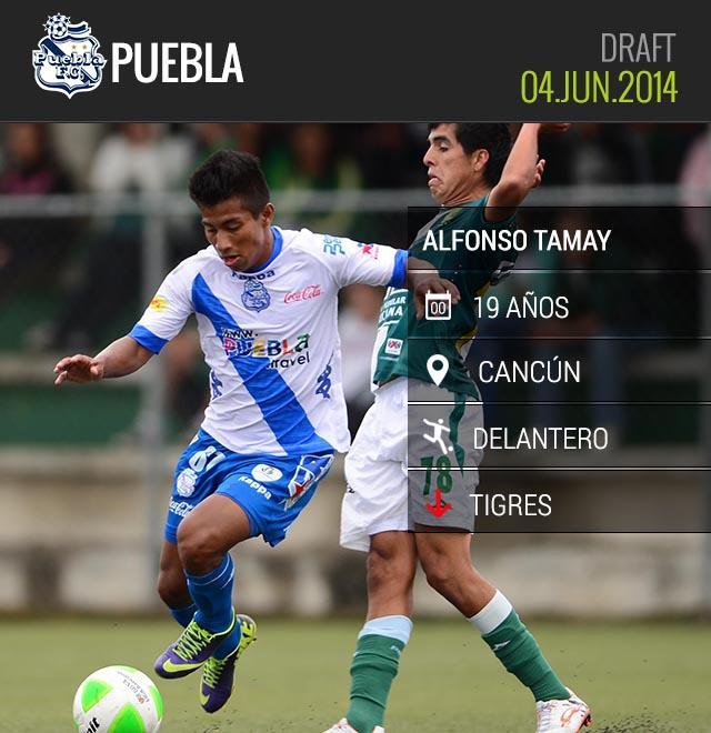 Alfonso Tamay se queda en Puebla