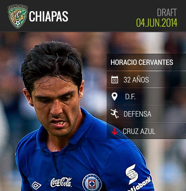 Horacio Cervantes llega a Chiapas