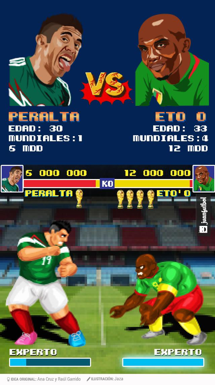 México contra Camerún