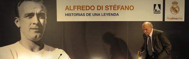 Alfedo di Stéfano, presidente de honor del Real madrid