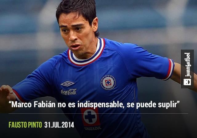 Marco Fabián no es indispensable