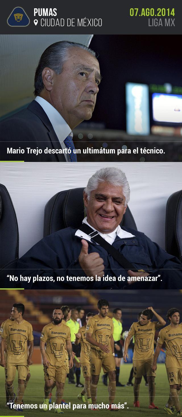 Mario Trejo descartó presión extra para José Luis Trejo