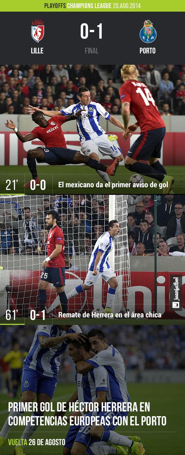 Lille 0-1 Porto
