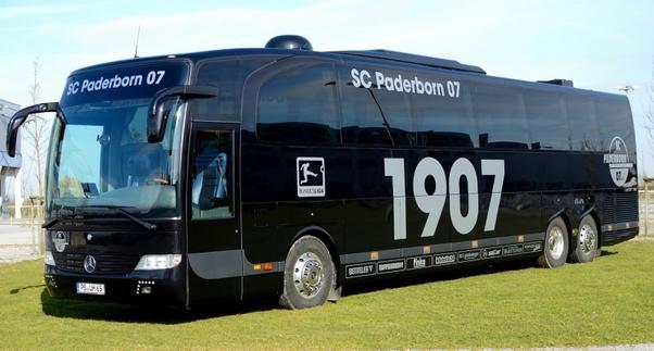Autobus de lujo, incluso para los aficionados