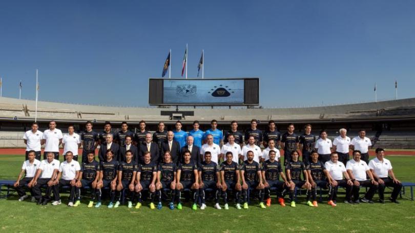 Foto oficial de Pumas para el Torneo Apertura 2014