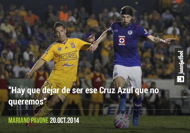Mariano Pavone dice que Cruz Azul tiene que ser ganador.