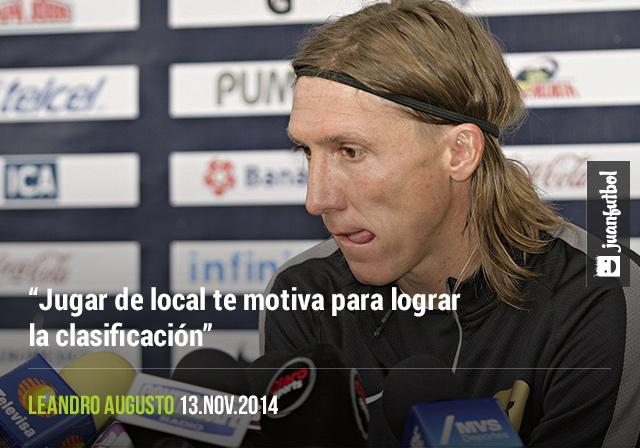 Leandro Augusto cree que Pumas puede lograr la clasificación a la Liguilla en CU