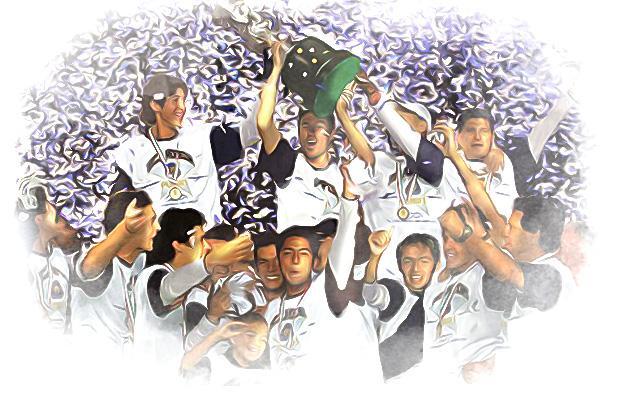 Los Pumas bicampeones del 2004.