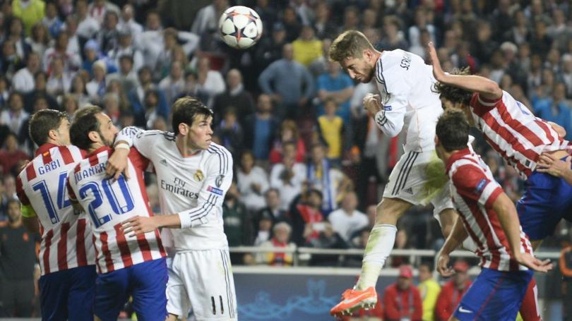 Defensas nominados al once ideal de la FIFA del 2014. Entre ellos está Sergio Ramos.