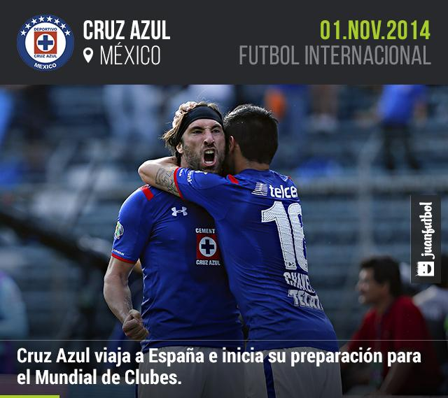Cruz Azul viaja a España e inicia su preparación para el Mundial de Clubes