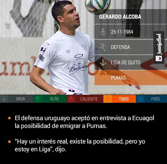 Gerardo Alcoba dominando el balón en un entrenamiento de la Liga de Quito