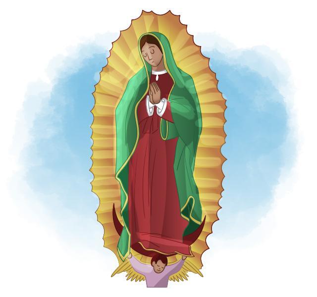 La Virgen Futbolera