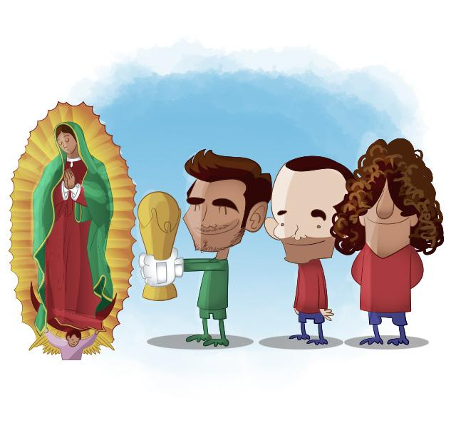 España dedica su título a la Virgen
