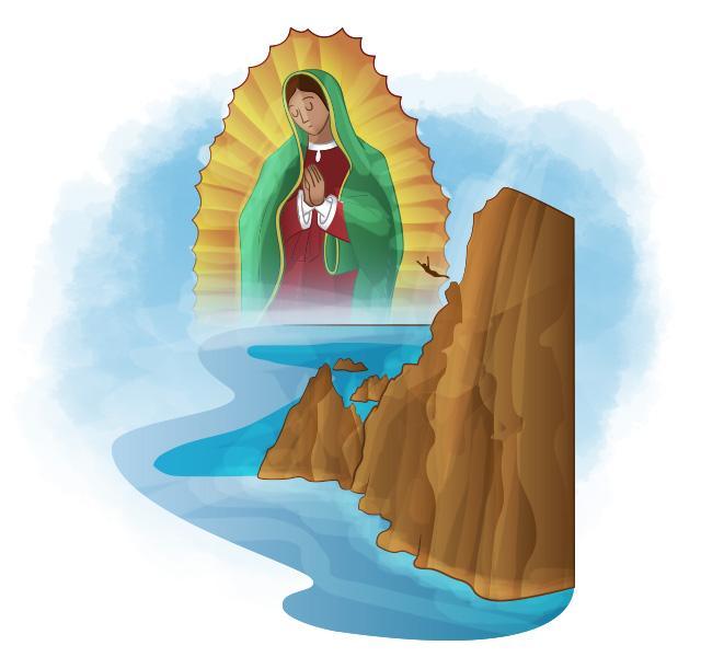 En La Quebrada Matías Campos se dio cuenta de  la devoción por la Virgen.