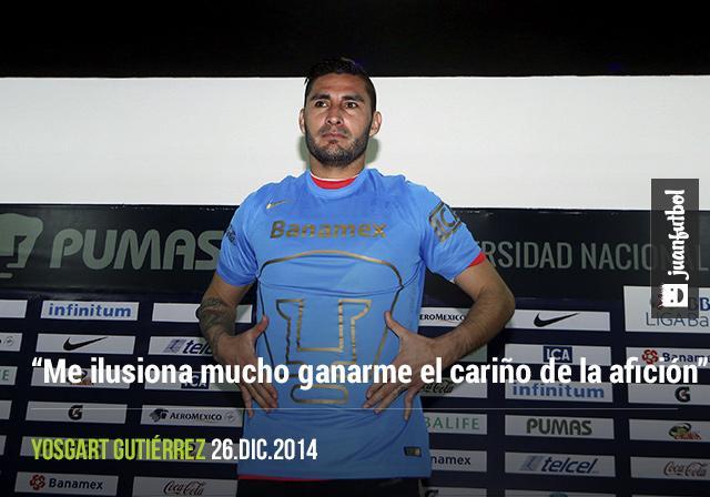 Yosgart Gutiérrez aseguro que buscará ganarse el puesto de titular con Saldivar, así como ganarse el cariño de la afición.