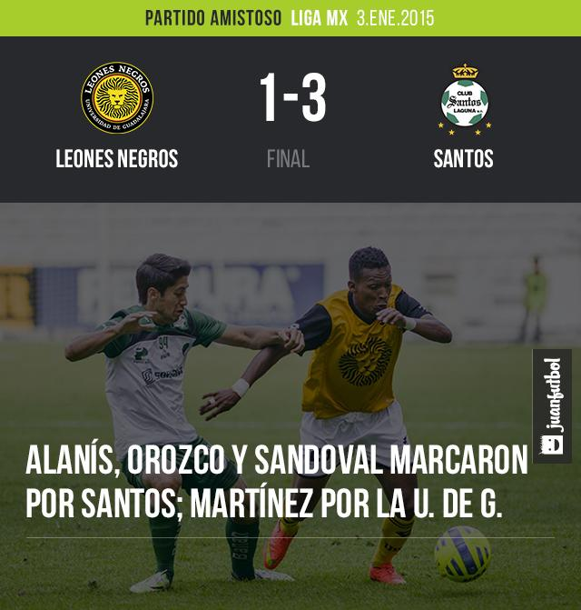 Leones Negros vs. Santos