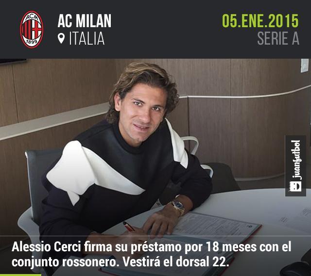 Alessio Cerci firma préstamo por 18 meses con el Inter de Milan