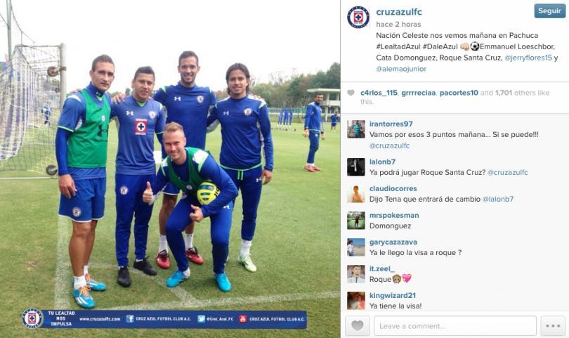 Los refuerzos de Cruz Azul se dicen a tope para debutar en el torneo