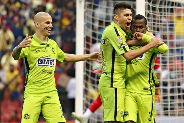 América vence al León 3-2 con doblete de Oribe Peralta y gol de Darwin Quintero en la jornada 1 de la Liga Mx