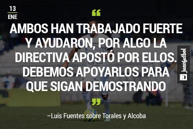 Luis Fuentes, defensa de Pumas
