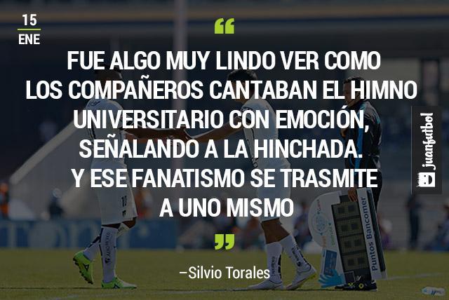 Silvio Torales entrando al campo