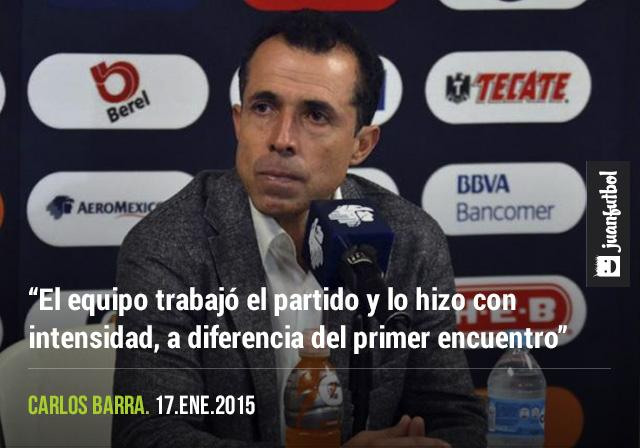 Carlos Barra vio un Monterrey distinto, más intenso, ordenado y con hambre