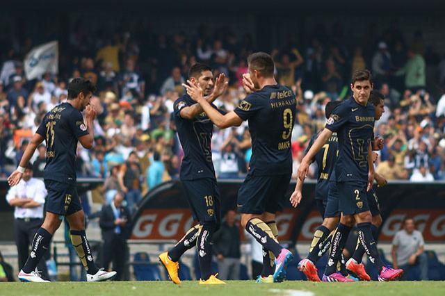 Pumas derrota al Toluca 3-2 con goles de Gerardo Alcoba y dos deIsmael Sosa