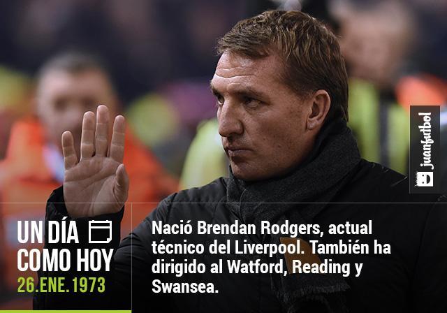 Cumpleaños de Brendan Rodgers