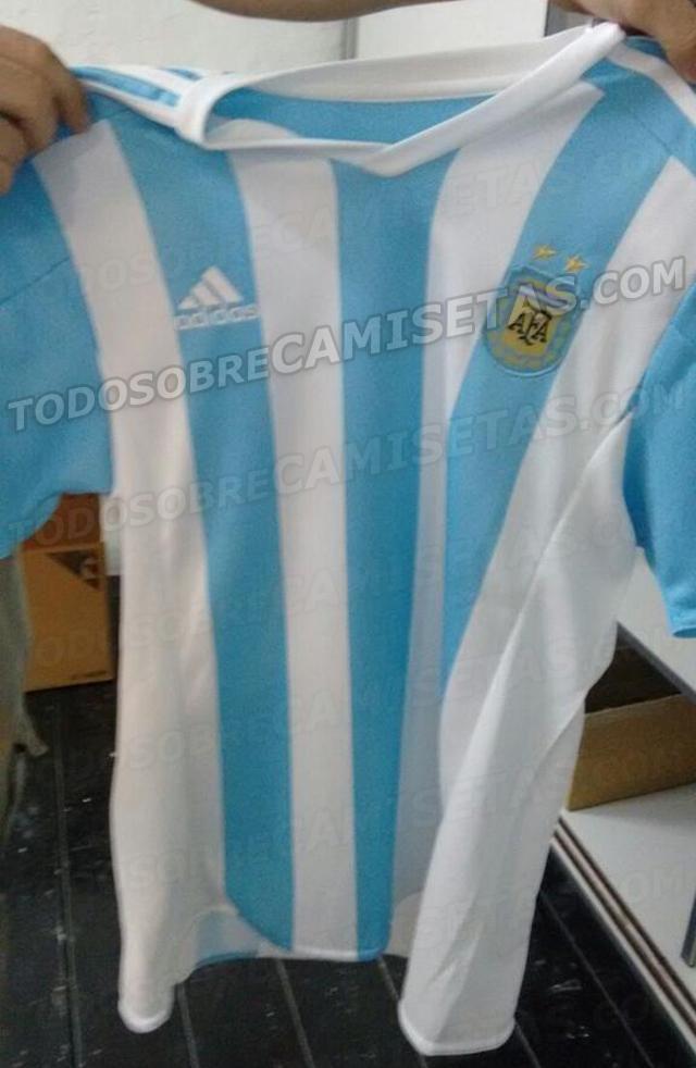 Playera de Argentina para la Copa América.