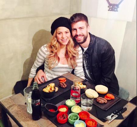 Gerard Piqué colgó una foto en redes sociales celebrando el día del amor y la amistad