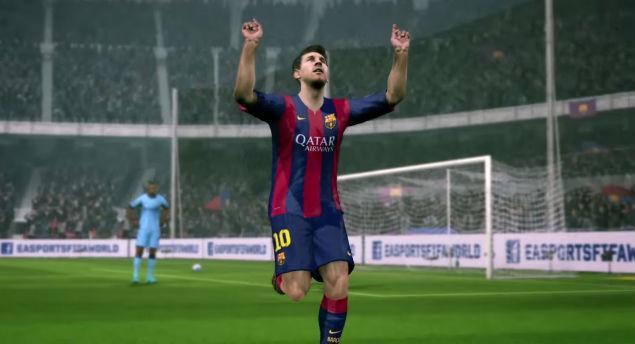 Messi fue el mejor jugador del Barcelona ante el Levante y por ello fue incluido en el 11 ideal del FIFA 15.