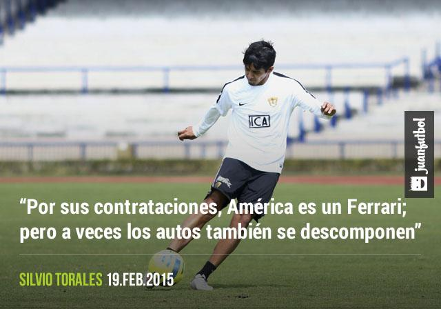 Silvio Torales aseguró que América podría tener defectos a explotar por parte de los Pumas