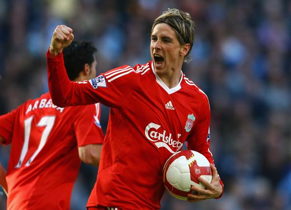 Fernando Torres con el Liverpool