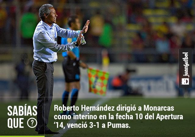 Roberto Hernández obtiene el primer triunfo de Monarcas Morelia