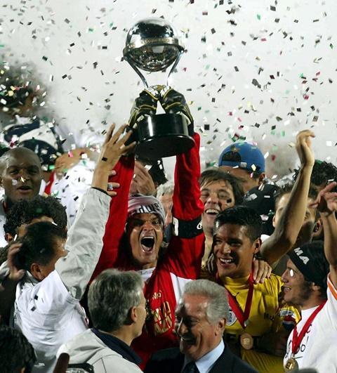 En 2006 Pachuca le ganó a Colo-Colo en la final de la Copa Sudamericana.