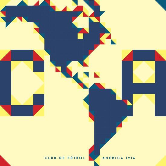 Escudo del América por James Campbell Taylor