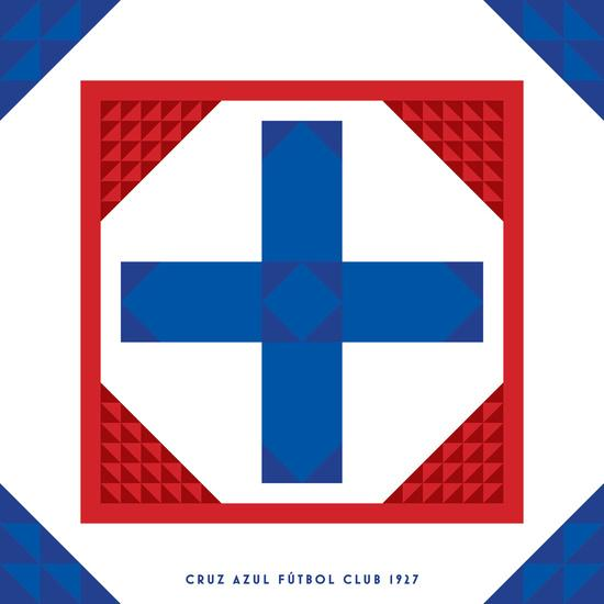 Escudo de Cruz Azul por James Campbell Taylor