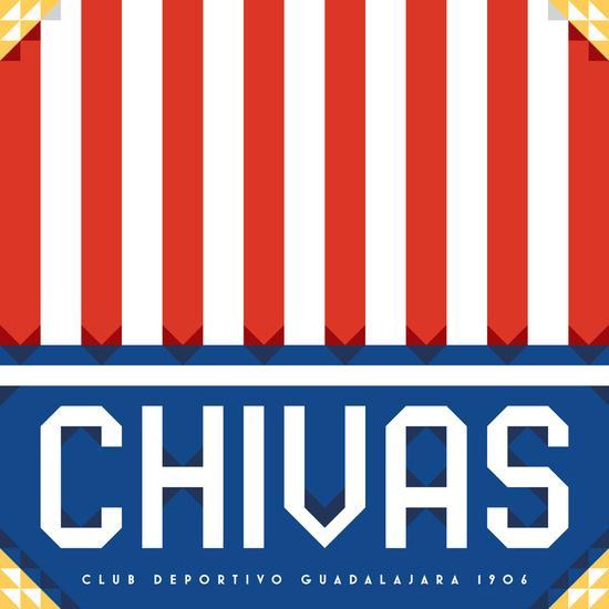 Escudo de Chivas por James Campbell Taylor