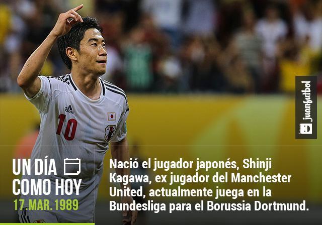 Cumpleaños de Shinji Kagawa.