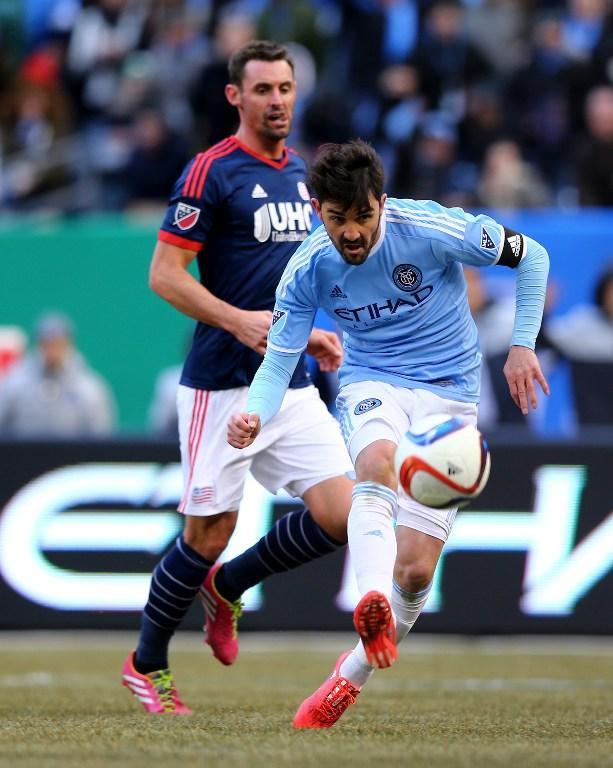 Villa le dio al City la primer victoria de su historia.