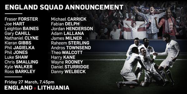 Harry Kane, convocado por primera vez a la Selección de Inglaterra