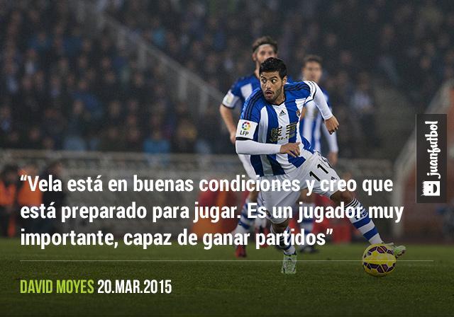 Carlos Vela podría regresar frente al Córdoba este fin de semana.