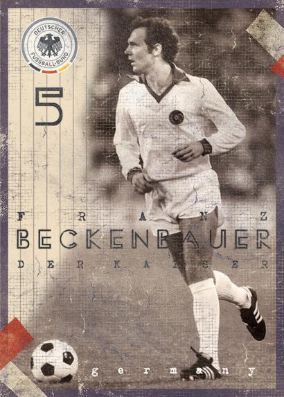 Franz Beckenbauer por Marija Markovic.