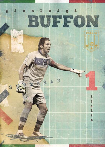 Gianluigi Buffon por Marija Markovic