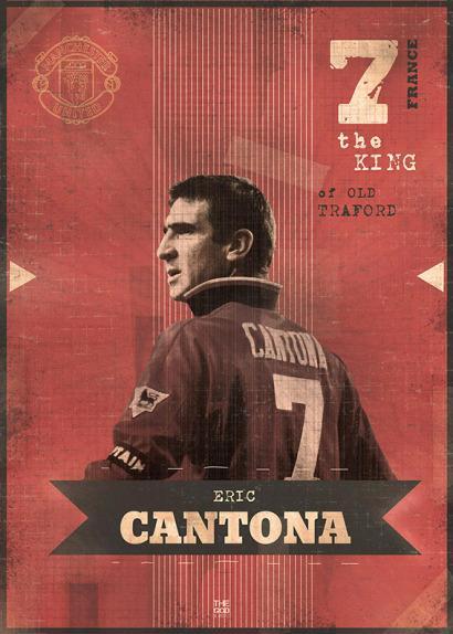 Eric Cantona por Marija Markovic.