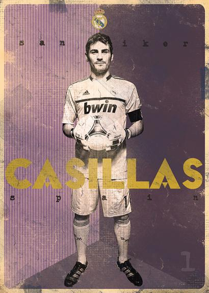 Iker Casillas por Marija Markovic.