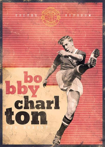 Bobby Charlton por Marija Markovic.