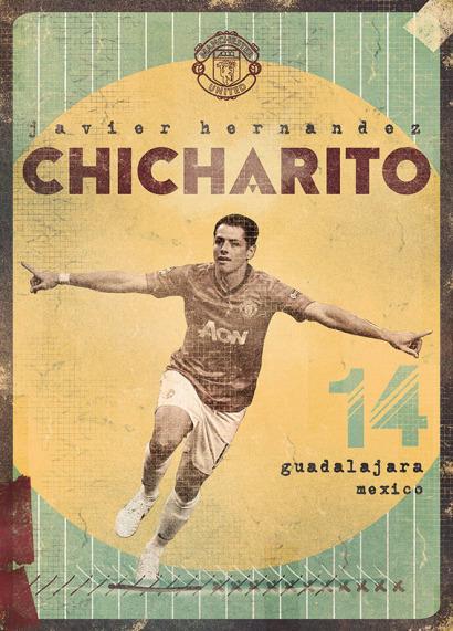 Javier 'Chicharito' Henández por Marija Markovic.