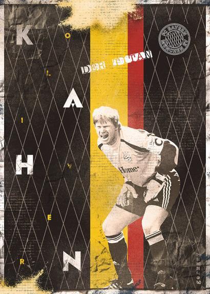 Oliver Kahn por Marija Markovic.