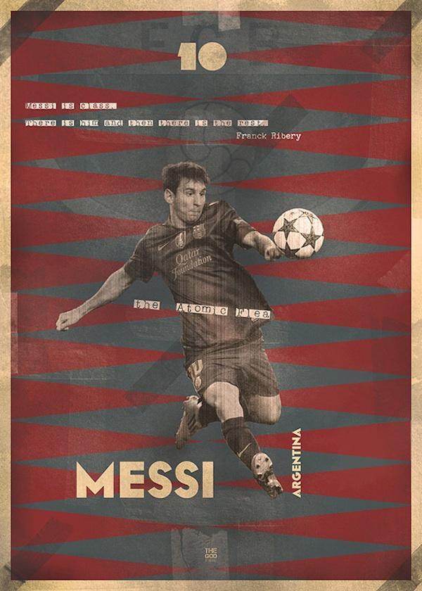 Lionel Andrés Messi Cuticcini por Marija Markovic.